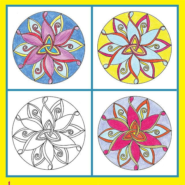 Creativity In The Time Of Covid 19 Mandala Coloring Free Downloads 1 Creativity For The Soul