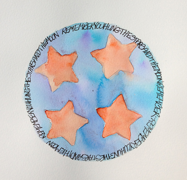 mandala-pat-huemmer-stars-moon-linda-wiggen-kraft-100-days-blog