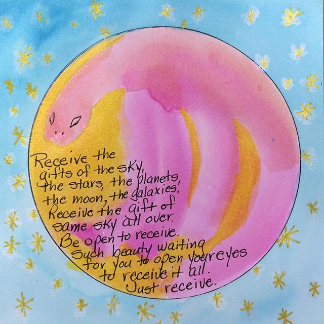 mandala-receive-pink-blue-sky-pat-huemmer-blog-linda-wiggen-kraft-blog