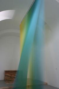 Gabriel Dawe thread art Plexus # 8 St. Louis
