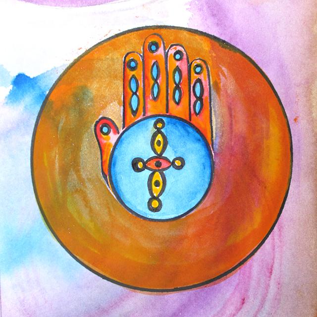 healing-hands-mandala-orange-circle-cropped-art-linda-wiggen-kraft-blog