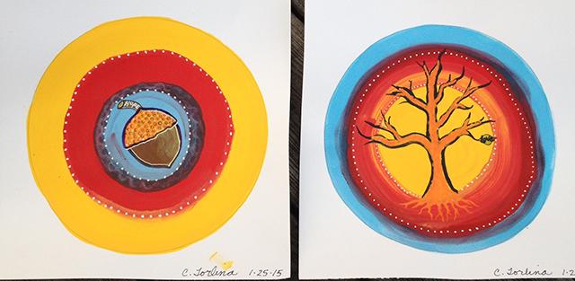 mandalas-acorn-tree-christine-torlina-blog-creativity-for-the-soul-blog