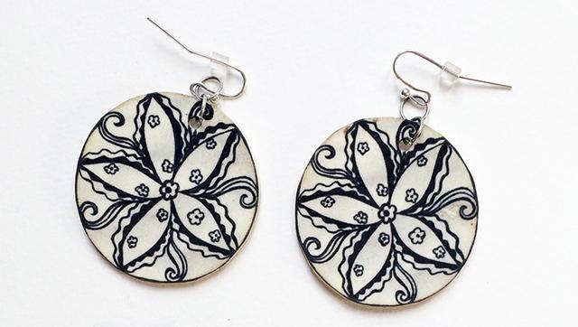 shirinky-dinks-bxw-flower-mandala-earrings-blog-creativity-for-the-soul-blog
