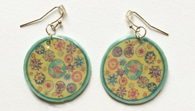 shrinky-dinks-mandala-colors-earrings-blog-creativity-for-the-soul-blog