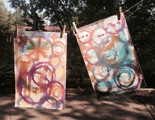 mandala-book-papers-drying-blog-creativity-for-the-soul-blog