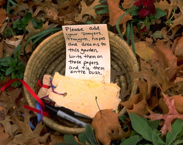 Peace and Healing Garden for 9/11/2001 by Linda Wiggen Kraft