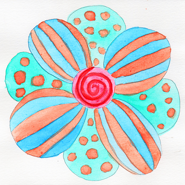 mandala-polka-dot-stripes-linda-wiggen-kraft-blog-creativity-for-the-soul-blog
