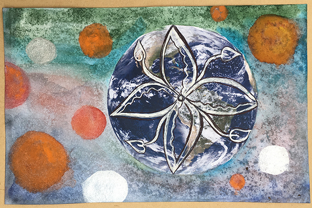 mandala-earth-planets-linda-wiggen-kraft-blog-creativity-for-the-soul-blog