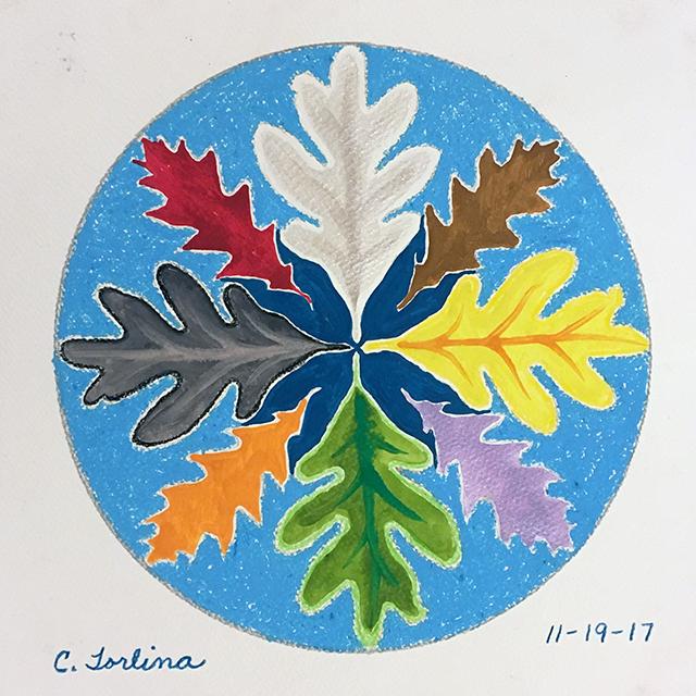 Leaf-mandala-christine-torlina-blog-creativity-for-the-soul-blog
