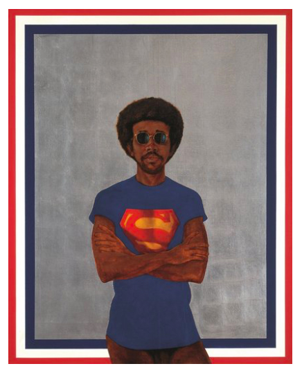Barkley L. Hendricks Icon for My Man Superman (Superman Never Saved any Black People – Bobby Seale)